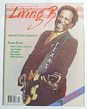 Living Blues Magazine Nov/dec 1988 John Clyde Copeland