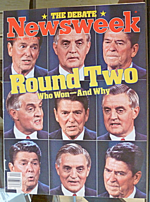 Newsweek Magazine-October 29, 1984-Round Two (Image1)
