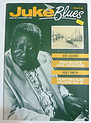 Juke Blues Magazine December 1985 Joe Liggins
