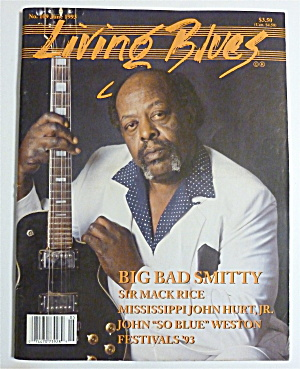 Living Blues Magazine June 1993 Big Bad Smitty