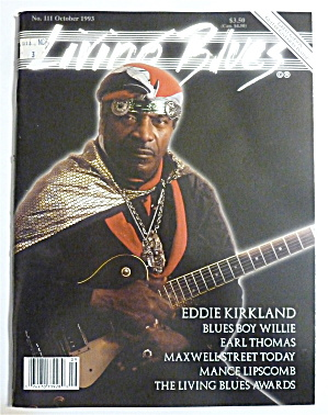 Living Blues Magazine October 1993 Eddie Kirkland