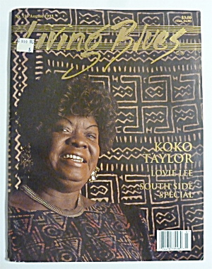 Living Blues Magazine August 1993 Koko Taylor