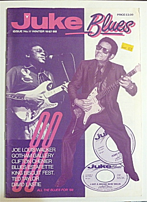 Juke Blues Magazine Winter 1987-88 Joe Louis Walker