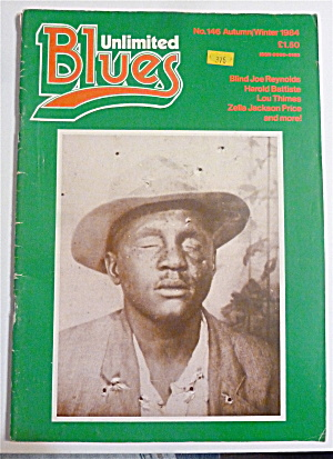 Blues Unlimited Magazine Autumn/winter 1984 Blind Joe
