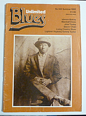 Blues Unlimited Magazine Summer 1982 Ishmon Bracey