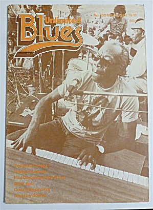 Blues Unlimited Magazine May/august 1978 Prof Longhair