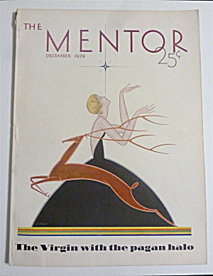 Mentor Magazine December 1929 Virgin With Halo