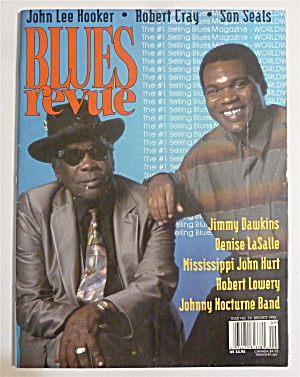 Blues Revue Magazine Sept/oct 1995 Ken Settle