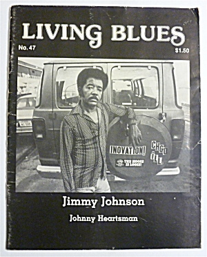 Living Blues Magazine Summer 1980 Jimmy Johnson
