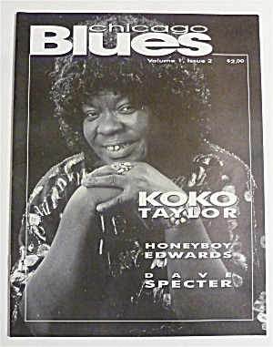 Chicago Blues Magazine September 1992 Koko Taylor