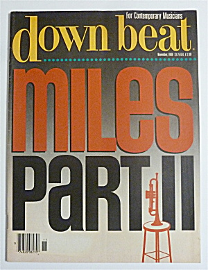 Down Beat Magazine November 1988 Miles Part Ii