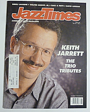 Jazz Times Magazine June 1991 Keith Jarrett