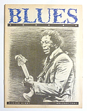 Blues Access Magazine Holiday 1991 Buddy Guy