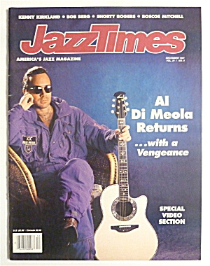 Jazz Times December 1991 Al Di Meola Returns