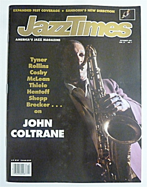 Jazz Times Magazine October 1991 John Coltrane