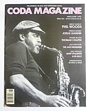 Coda Magazine May/june 1992 Phil Woods