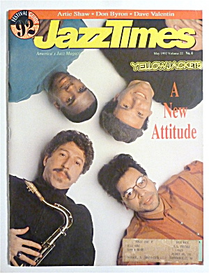 Jazz Times Magazine May 1992 Yellowjackets