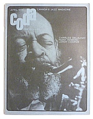 Coda Magazine April 1976 Coleman Hawkins