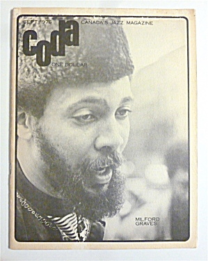 Coda Magazine September 1976 Milford Graves