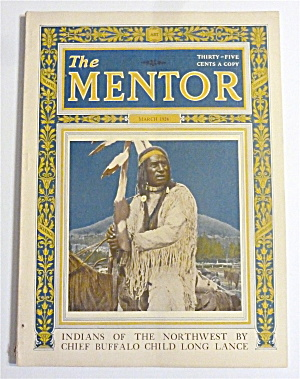 Mentor Magazine March 1924 Indians Of The Northwest