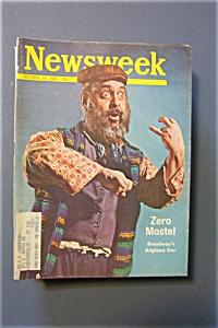 Newsweek Magazine - October 19, 1964 - Zero Mostel (Image1)