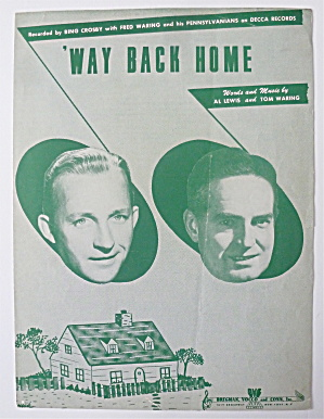 Sheet Music For 1949 Way Back Home