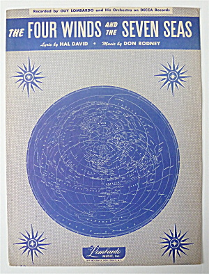 Sheet Music For 1949 The Four Winds & The Seven Seas