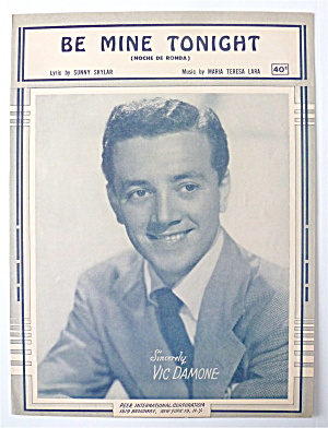 Sheet Music For 1951 Be Mine Tonight (Noche De Ronda)