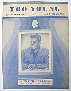 Sheet Music For 1951 Too Young