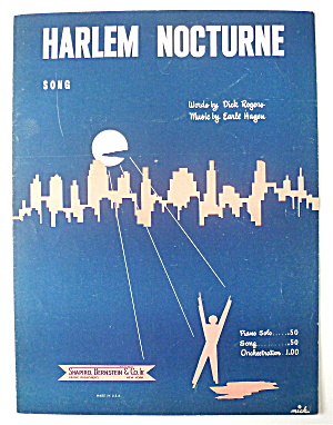 Sheet Music For 1951 Harlem Nocturne