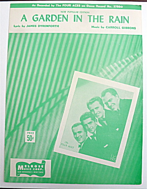 Sheet Music For 1946 A Garden In The Rain