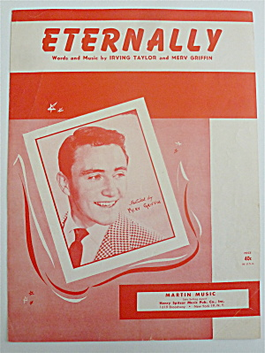Sheet Music For 1951 Eternally