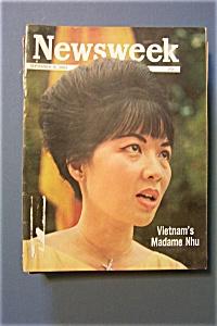 Newsweek Magazine - September 9, 1963 - Madame Nhu (Image1)