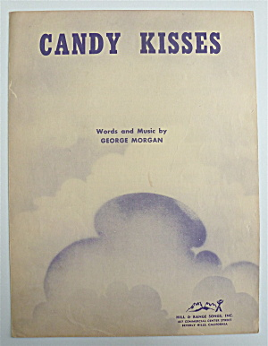 Sheet Music For 1948 Candy Kisses