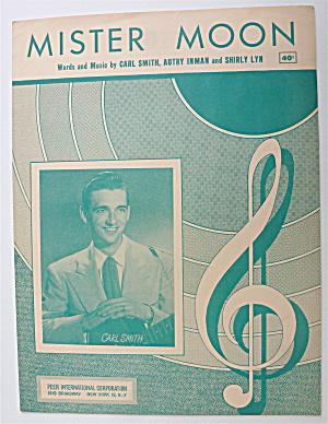 Sheet Music For 1951 Mister Moon