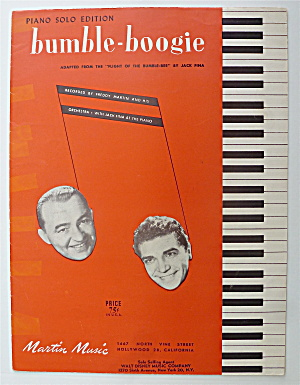 Sheet Music For 1946 Bumble Boogie