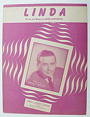 Sheet Music For 1946 Linda