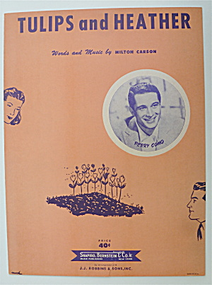 Sheet Music For 1950 Tulips And Heather