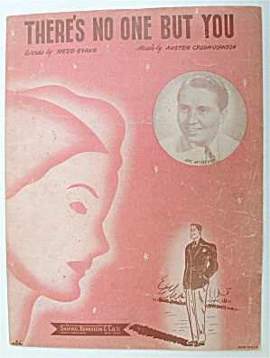 Sheet Music For 1946 There's No One But You