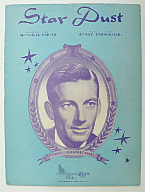 Sheet Music For 1929 Star Dust