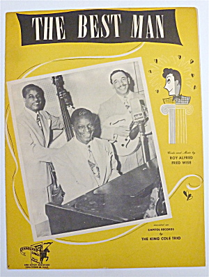 Sheet Music For 1946 The Best Man  (Image1)