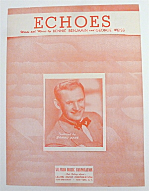 Sheet Music For 1949 Echoes
