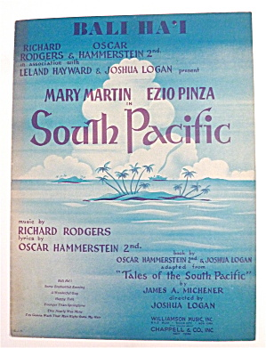 Sheet Music For 1949 Bali Ha'i