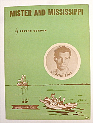 Sheet Music For 1951 Mister & Mississippi