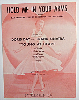 Sheet Music For 1954 Hold Me In Your Arms