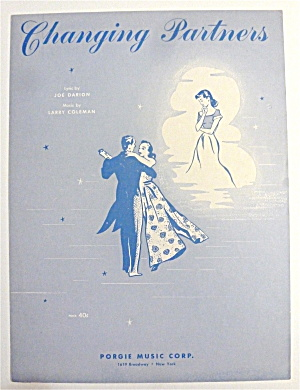 Sheet Music For 1953 Changing Partners