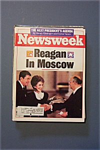 Newsweek Magazine - June  6, 1988 - Reagan In Moscow (Image1)