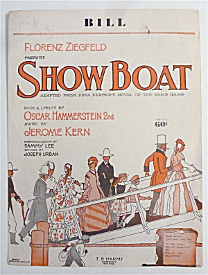 Sheet Music For 1927 Bill (Show Boat)