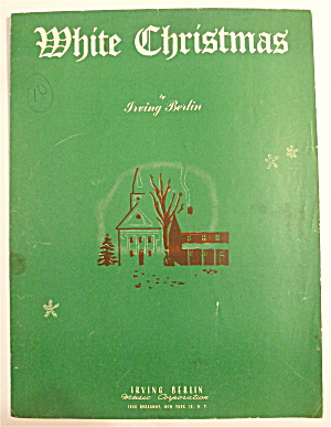 Sheet Music For 1942 White Christmas