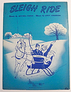 Sheet Music For 1950 Sleigh Ride